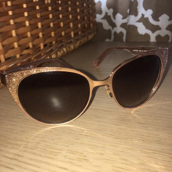 3d7dbcb5b7 Deal kate spade new york Source · kate spade Accessories Gold Glitter  Sunglasses Poshmark